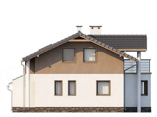 Projekt Domu Raszyn 108 1 M2 Koszt Budowy Extradom