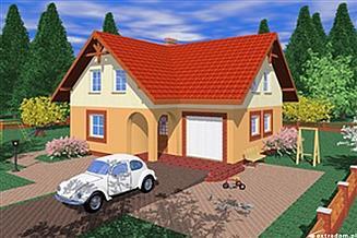 Projekt domu Cme