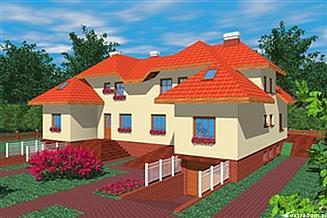 Projekt domu Kwi