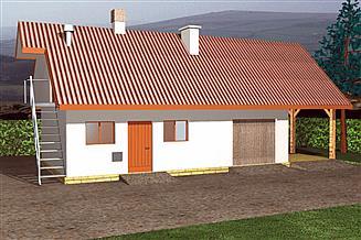Projekt budynku inwentarskiego BR 055