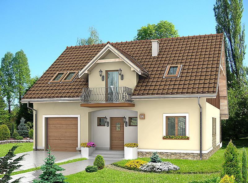Projekt domu HG-C1A
