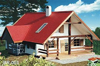Projekt domu BR 002