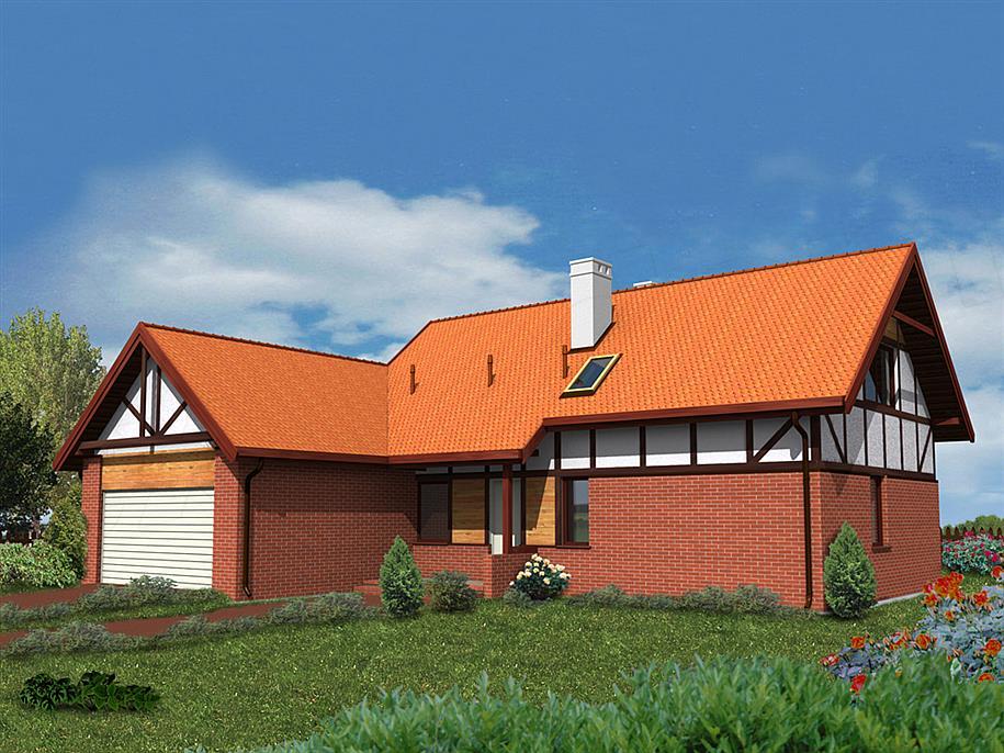 Projekt Domu Wm 04 Kowalik Etap I Z Murem Pruskim 11173 M2 Koszt