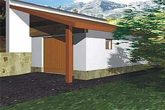 Projekt garażu BR 062