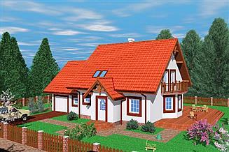Projekt domu Fra
