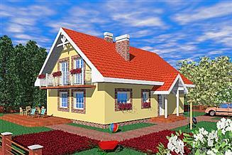 Projekt domu Jad