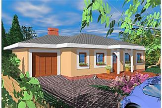 Projekt domu Mur