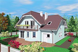 Projekt domu Oka
