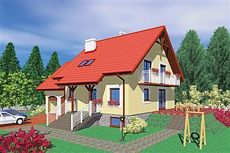 Projekt domu Sob