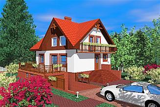 Projekt domu Kle