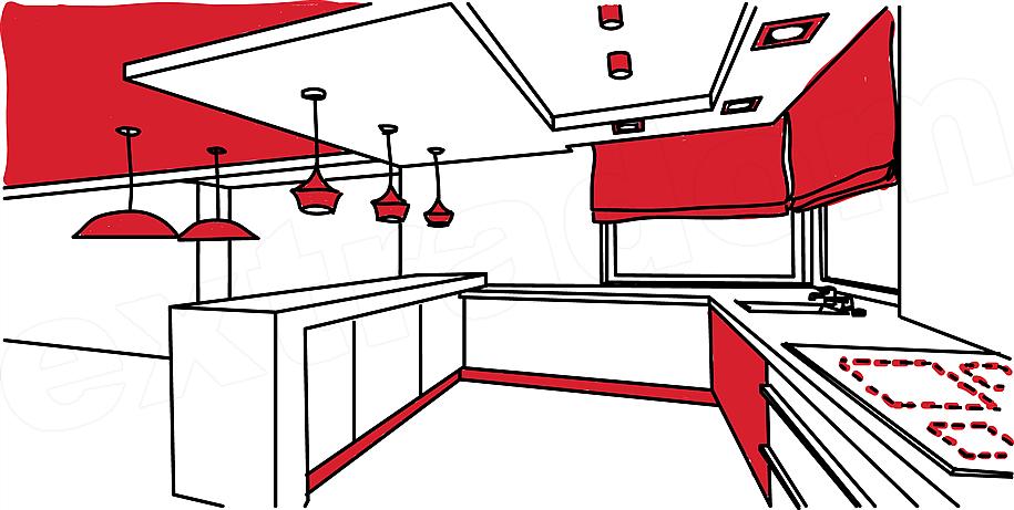 Jak Prawidłowo Rozplanować Oświetlenie W Kuchni Extradom