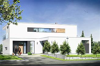 Projekt domu Willa słoneczna