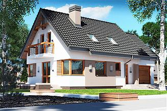 Projekt domu Guliwer N