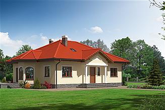 Projekt domu Zadębie plus