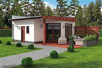 Projekt kuchni letniej KL9 Kuchnia letnia / Bud. gospodarczy