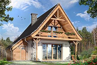 Projekt domu Chatka 2