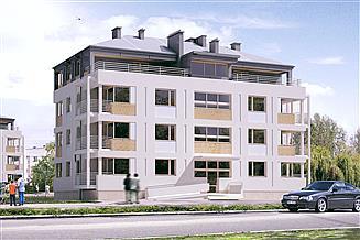 Projekt budynku wielorodzinnego Lazur 3 Budynek wielorodzinny