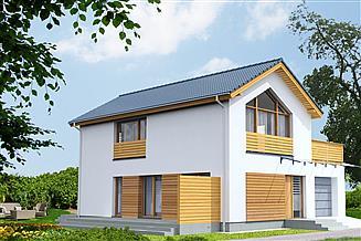Projekt domu Sendai DCP323