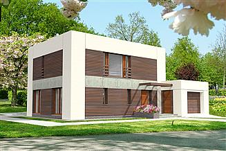 Projekt domu Espoo Pasywny 4 LDP04
