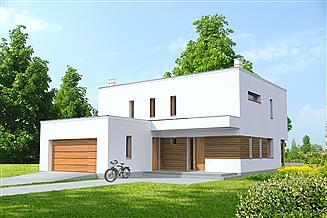 Projekt domu Tarent Pasywny 5 LDP05