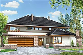 Projekt domu Willa z basenem