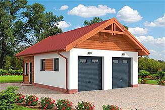 Projekt garażu Extra wygodny