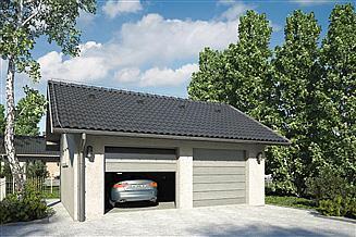 Projekt garażu Garaż Z 10