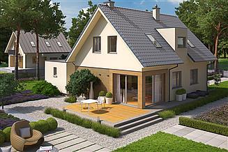 Projekt domu Tiago G1 (wersja A)