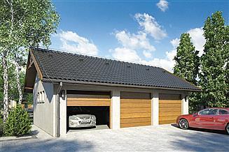 Projekt garażu Garaż Z 21