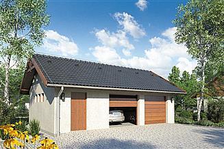 Projekt garażu Garaż Z 22