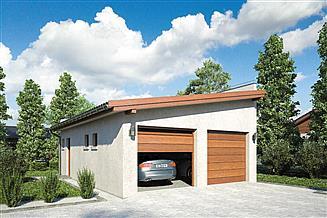 Projekt garażu Garaż Z 23