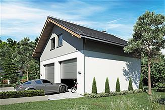 Projekt garażu Garaż Z 27