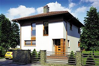 Projekt domu Milano