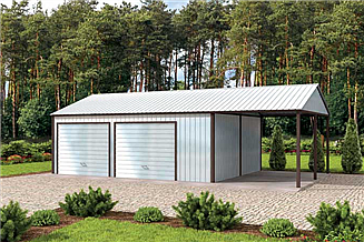 Projekt budynku gospodarczego GB28 projekt budynku gospodarczego