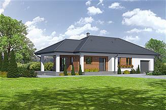 Projekt domu Piaseczno 3g