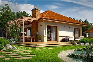Projekt domu Tosia energo