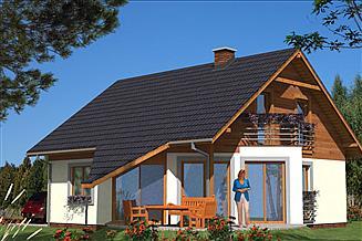 Projekt domu L-6 Dom tradycyjny