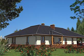 Projekt domu L-13 Dom tradycyjny