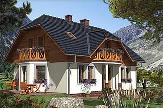 Projekt domu L-50 Dom tradycyjny