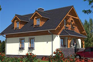 Projekt domu L-61 Dom tradycyjny