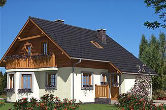 Projekt domu L-19 Dom tradycyjny