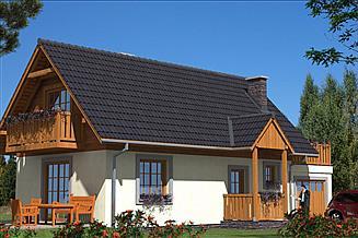 Projekt domu L-24 Dom tradycyjny