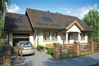 Projekt domu Beata