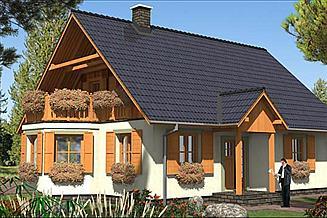 Projekt domu L-46 Dom tradycyjny