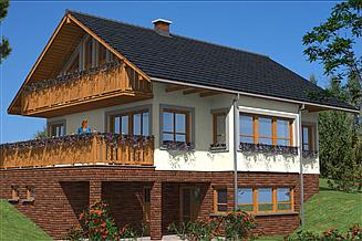 Projekt domu L-68 Dom tradycyjny