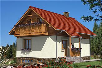 Projekt domu L-69 Dom tradycyjny