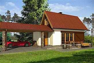 Projekt domu Jacek B