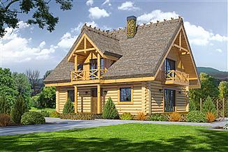 Projekt domu Dom pomorski dw