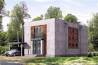 Projekt domu Bryg