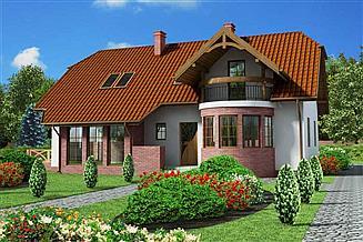 Projekt domu Merlo dom dwurodzinny